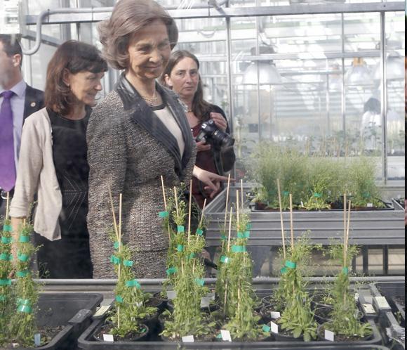 La reina Sofía visita el Centro Nacional de Biotecnología