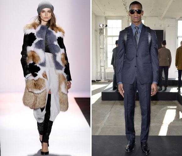 Arrancan los desfiles de la 'Fashion Week' de Nueva York otoño-invierno 2013-2014: Los primeros desfiles, foto a foto