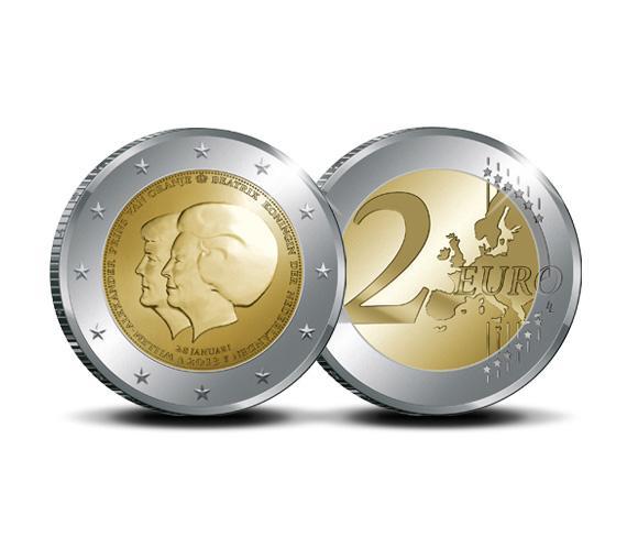 Moneda conmemorativa de la sucesión holandesa