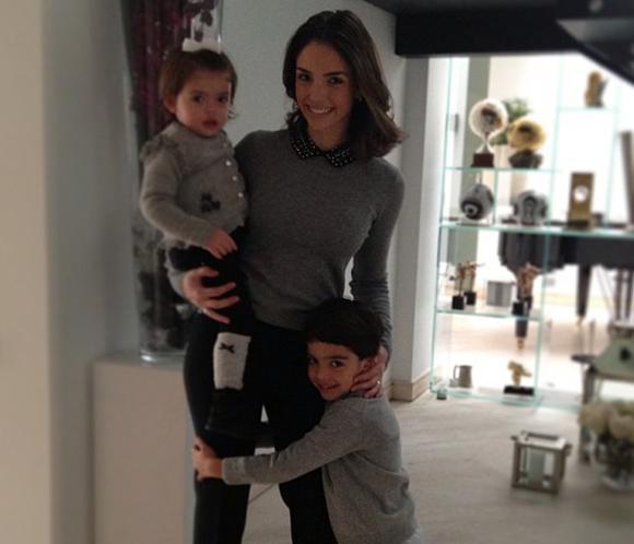 Caroline Celico, mujer de Kaká, presume de hijos en las redes sociales