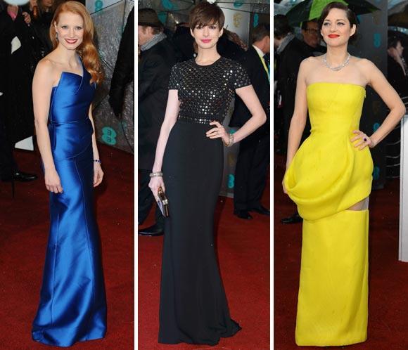 Foto a foto, la alfombra roja de los BAFTA 2013