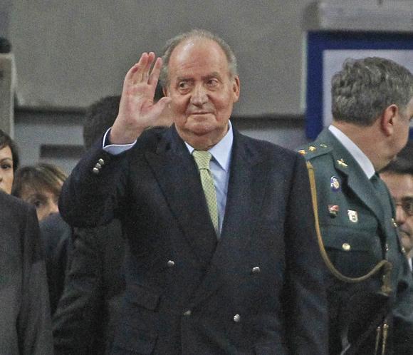 Don Juan Carlos preside la final de la Copa del Rey de baloncesto