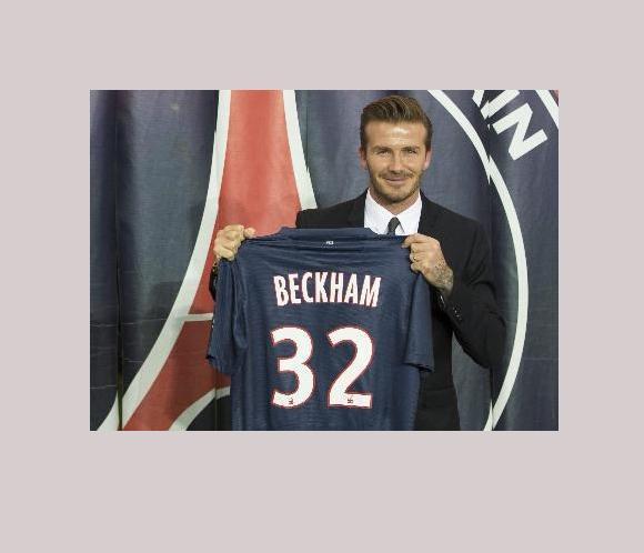 Beckham llega a Valencia y se concentra con sus nuevos compañeros del París Saint Germain