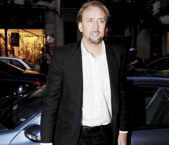 Nicolas Cage, a las órdenes de un cineasta español