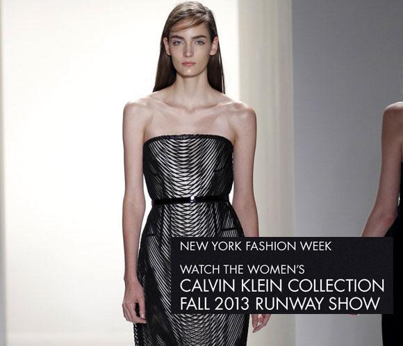 No te pierdas, hoy en directo a partir de las 20:00h, el desfile de Calvin Klein Collection en la Semana de la moda de Nueva York
