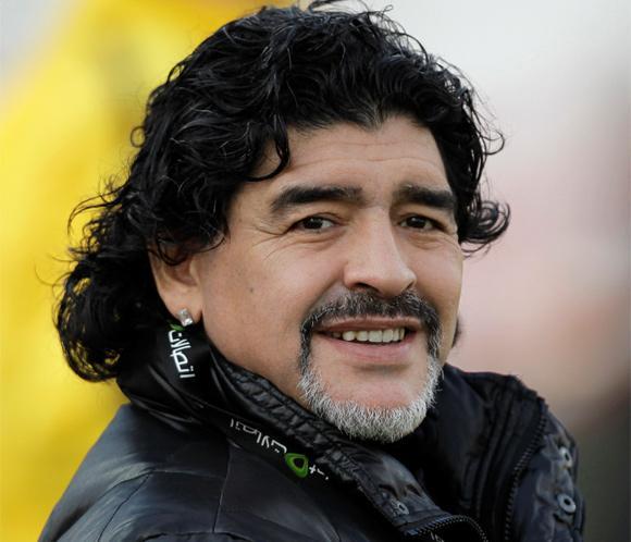 Diego Armando Maradona ha sido padre de un niño