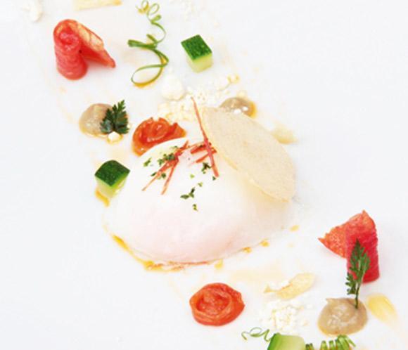 Recetas 'Le Cordon Bleu': Huevo asado con pisto en texturas