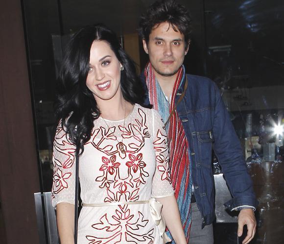 Katy Perry y John Mayer celebran su primer San Valentín juntos