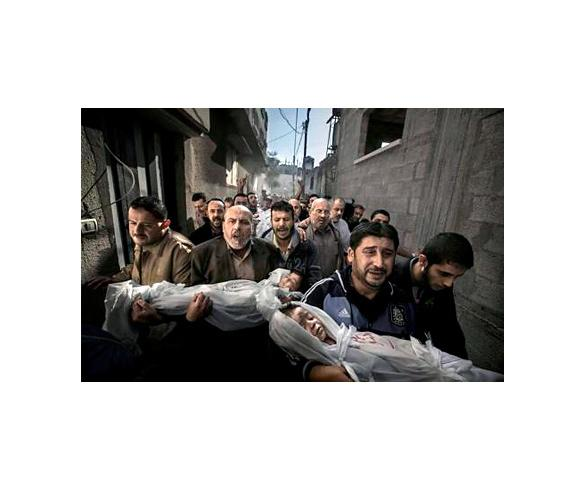 El sueco Paul Hansen gana el World Press Photo con una imagen de la tragedia palestina