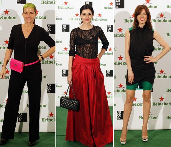 Samantha Vallejo Nájera, Raquel Sánchez Silva, María Reyes... coinciden en la fiesta inaugural de ARCO