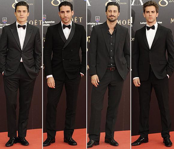 Votación: Ayúdanos a elegir al hombre mejor vestido en los premios Goya 2013