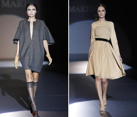 Juana Martín presenta en la FWM un diseño contenido lleno de detalles artesanales