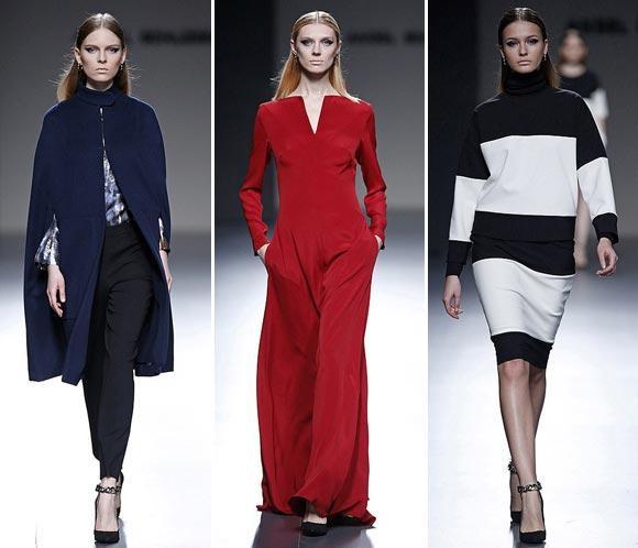 Ángel Schlesser moderniza las prendas más clásicas en la Fashion Week Madrid