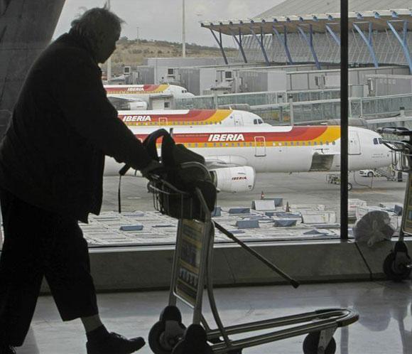 Más de 250 vuelos cancelados hoy, en la tercera jornada de huelga en Iberia