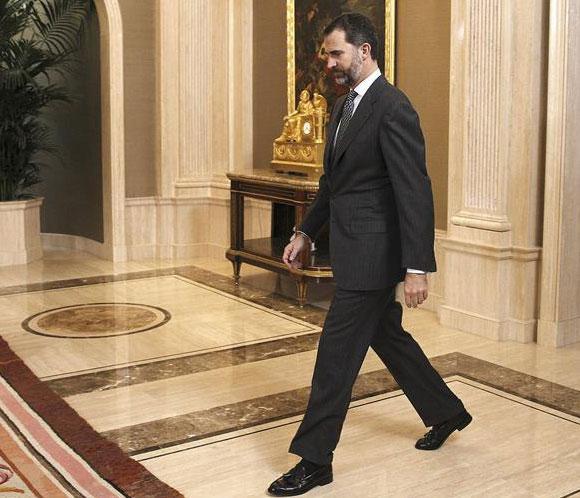El príncipe Felipe inaugura en San Sebastián el Foro de Empleo de Tecnun