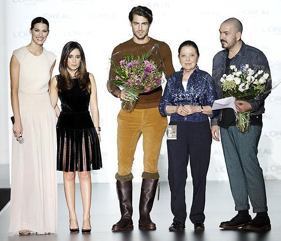 Premios L'Oréal: Duyos y Antonio Navas, 'mejor colección' y 'mejor modelo' de la 57ª edición de Mercedes-Benz Fashion Week Madrid