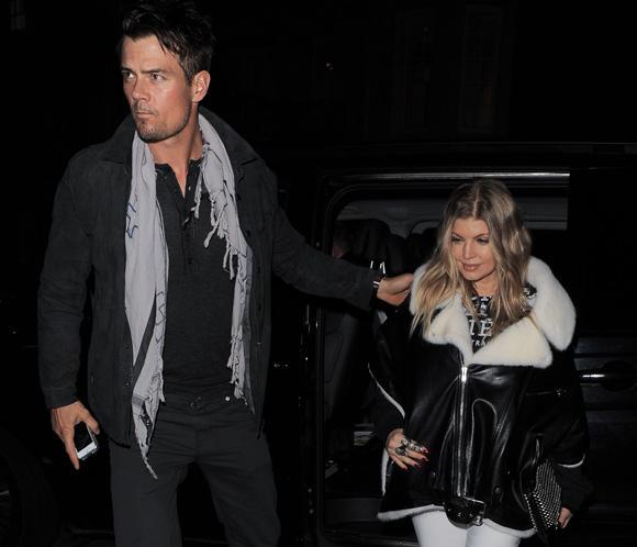 Fergie y Josh Duhamel celebran que van a ser papás con una cena sólo para dos