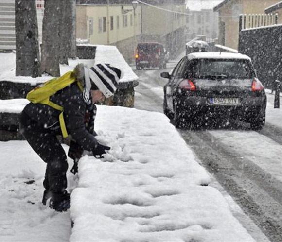 Treinta y ocho provincias en alerta por el temporal de nieve y frío