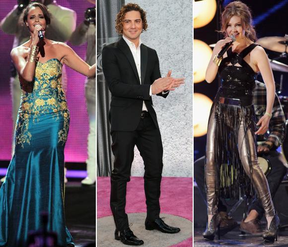 Alejandro Sanz, Shaila Dúrcal, David Bisbal, Thalía... recuerdan a Jenni Rivera en los premios Lo Nuestro