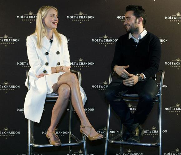 Naomi Watts, Juan Antonio Bayona y Paco Delgado calientan motores para la gala de los Oscar