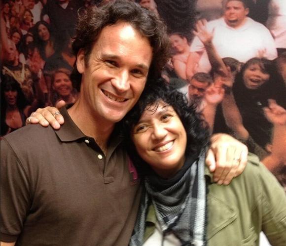 Carolina Cerezuela y Carlos Moyá, testigos del primer concierto de Rosana en Miami