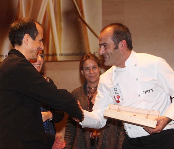 Albert Marimon, del restaurante 'La Cava', premio al 'Cocinero del año'