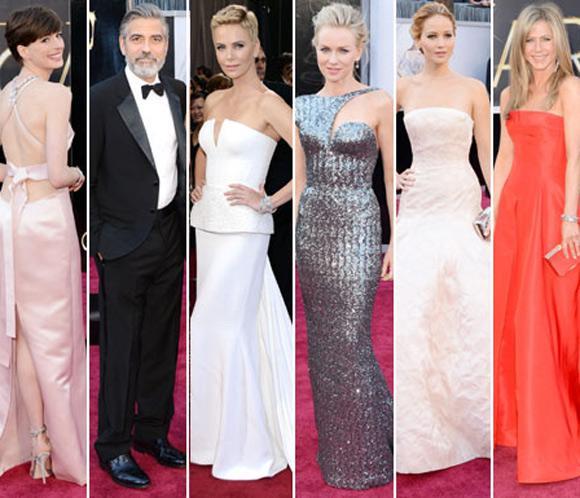 Las estrellas brillan a su paso por la alfombra roja del teatro Dolby