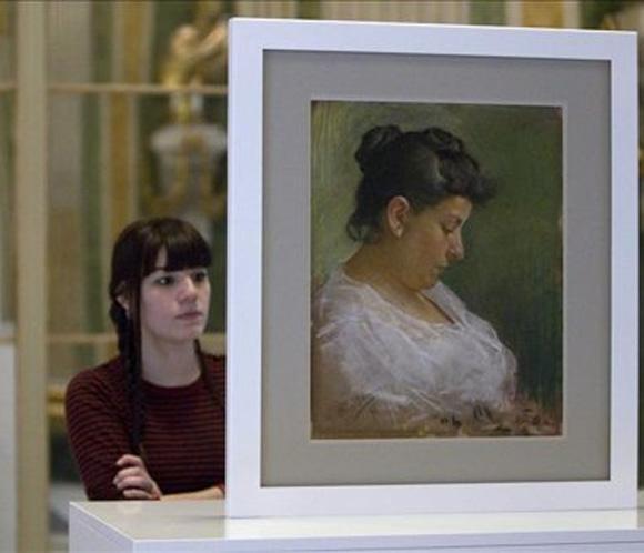 Hallan un posible dibujo inédito de Picasso en el reverso de una obra del pintor