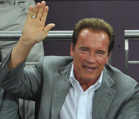 Arnold Schwarzenegger, ¿de nuevo enamorado?