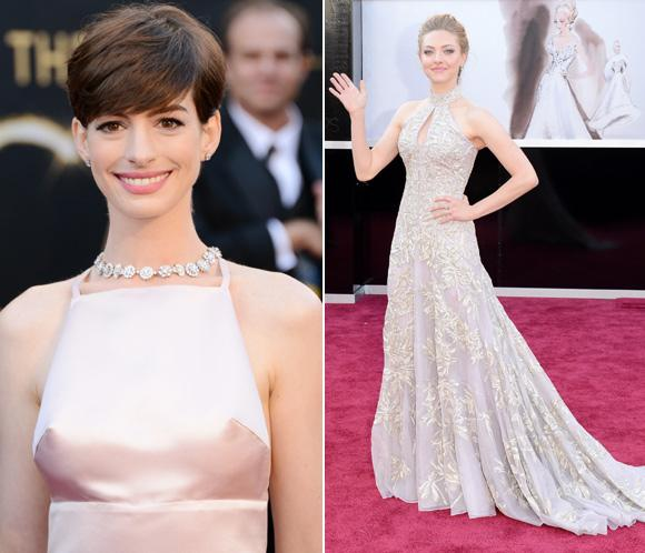 ¿Por qué Anne Hathaway decidió a última hora llevar otro vestido a los Oscar?