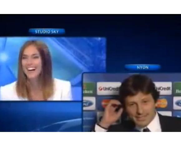 Los Iker Casillas y SaraCarbonero de la televisión italiana: '¿Quieres casarte conmigo?'
