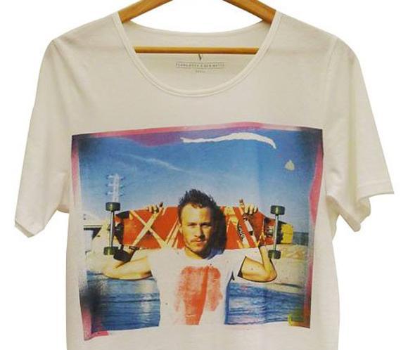 La familia y amigos de Heath Ledger conmemoran el quinto aniversario de su fallecimiento con una camiseta muy especial