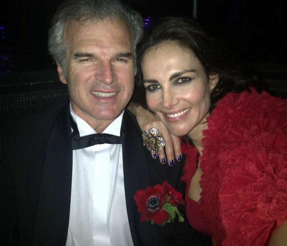Adriana Abascal y su prometido, Emmanuel Schreder, invitados de excepción en el Baile de la Rosa de Mónaco