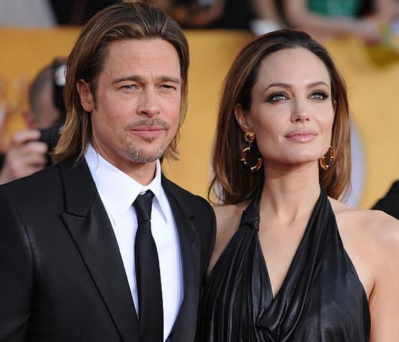 Angelina Jolie, sobre los rumores de boda con Brad Pitt: 'No nos hemos casado en secreto'