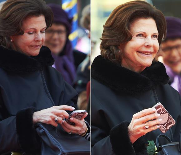 Silvia de Suecia, una reina'enganchada' alas nuevas tecnologías