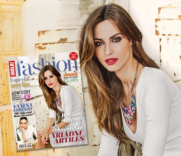 Ariadne Artiles, belleza y estilo en la portada del nuevo número de ¡HOLA! Fashion