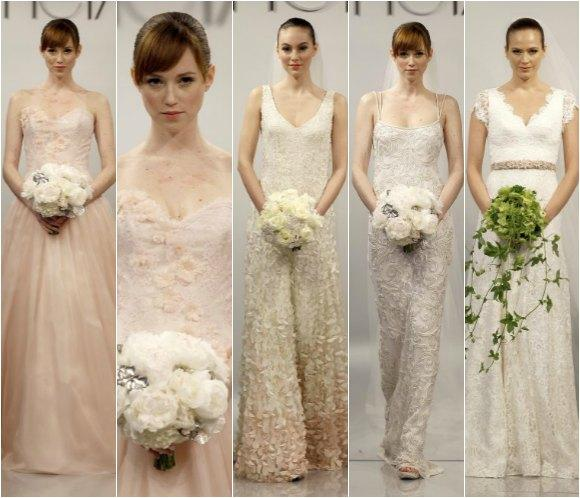 New York Bridal Week 2014: Marchesa, Vera Wang y Monique Lhuillier