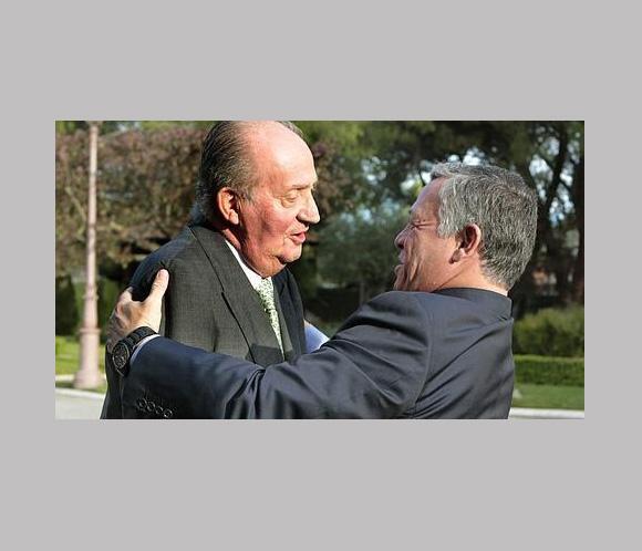 Don Juan Carlos analiza con Abdalá de Jordania la situación en Oriente Próximo