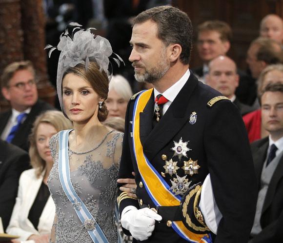La Princesa de Asturias, elegancia en seda y tul titanio