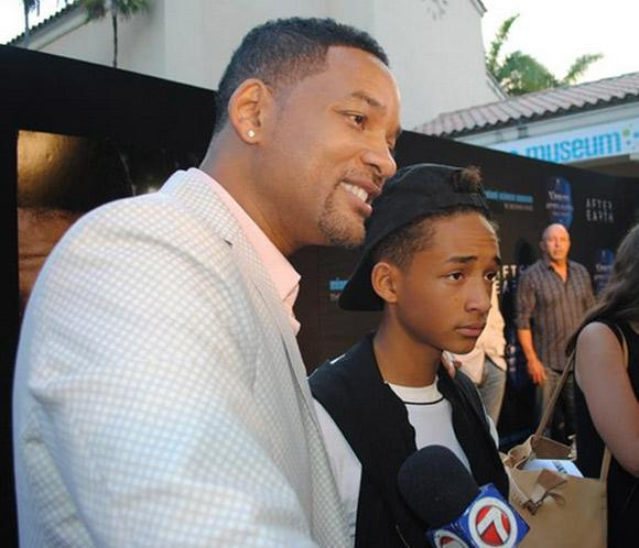 Will Smith y su hijo Jaden presentan 'After Earth' en Miami