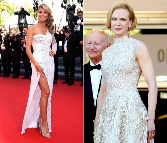 Jueves 23 de mayo: Heidi Klum y Nicole Kidman acaparan todos los 'flashes' en Cannes