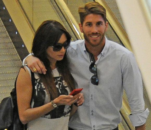 Sergio Ramos y Pilar Rubio, dos enamorados de compras