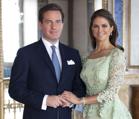 La Casa Real sueca publica nuevos retratos oficiales de Magdalena de Suecia y Chris O'Neill