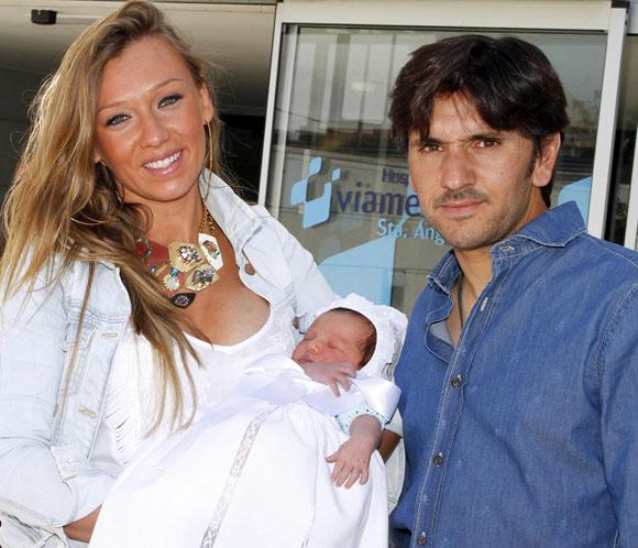Diego Ventura y su mujer, Rocío Pérez, padres de un niño llamado Diego