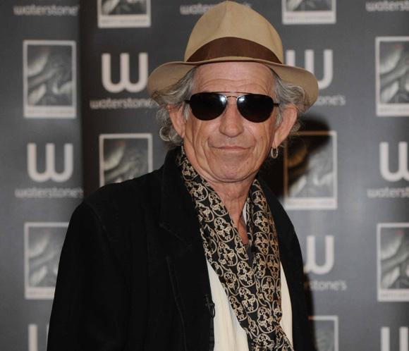 Keith Richards prepara su primer disco en solitario desde 1992