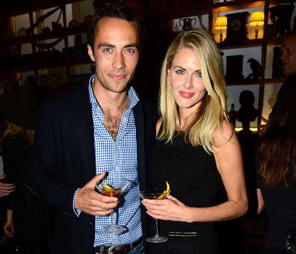 James Middleton y Donna Air, dos enamorados en la noche londinense