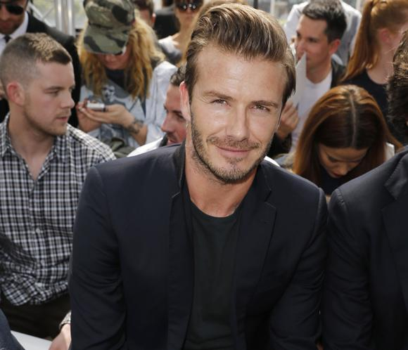 David Beckham comparte 'front-row' con Marc Jacobs