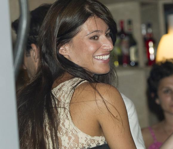 Sonia Ferrer feliz junto a Álvaro Muñoz Escassi