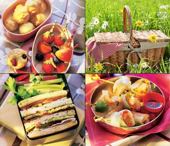D a de picnic qu meto en la tartera noticias - Comida para llevar de picnic ...