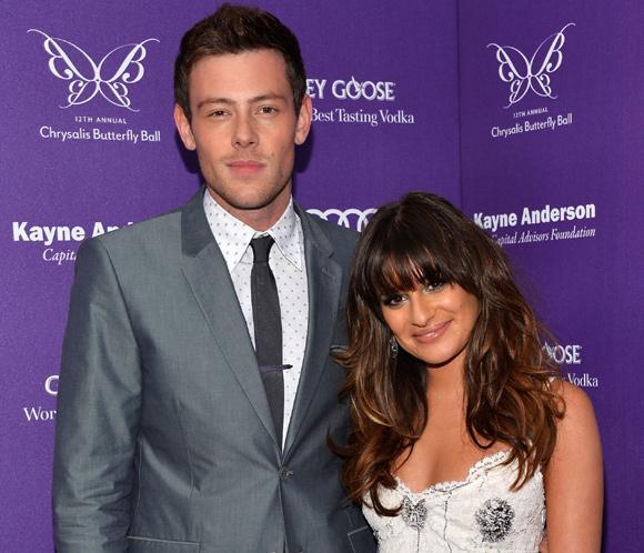 Lea Michele, devastada tras el fallecimiento de su novio, el actor de 'Glee' Cory Monteith